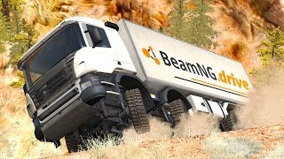 Video Dangerous Curves #6 – BeamNG Drive Crashes & Fails Compilation download MP3, 3GP, MP4, WEBM, AVI, FLV November 2017