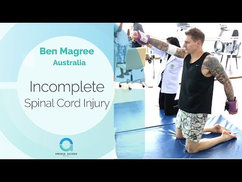 Australian Patient Ben Receives Cellular Therapy for His Incomplete Spinal Cord Injury