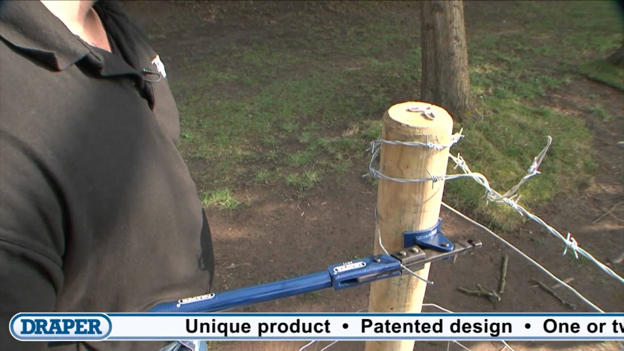 draper fence wire tensioning tool 57547 youtube rh youtube com