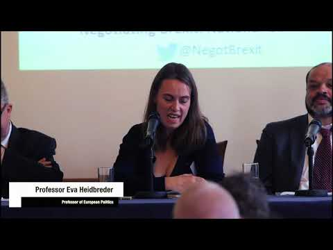 'Negotiating Brexit' conference, 20 October 2017: Panel 2 Fr