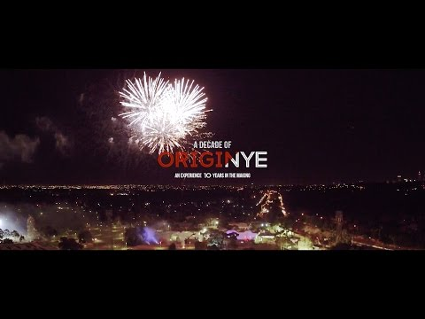 Origin NYE Music Festival // Highlights 2016