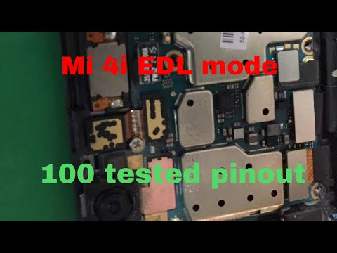 Mi 4i Edl Mode test point - YouTube