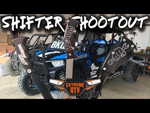 RZR GATED SHIFTER SHOOTOUT - Extreme UTV Tech - YouTube
