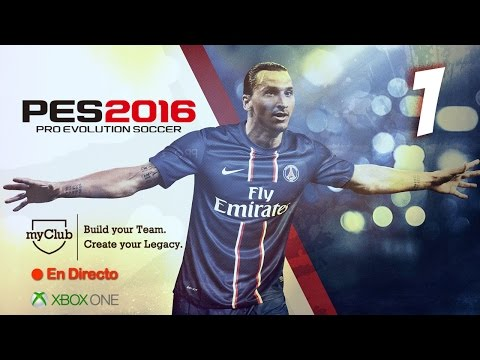 "PES 2016: ""El último gran reto"" (The 5 Legends + Babangida) - myClub Xbox One #1"