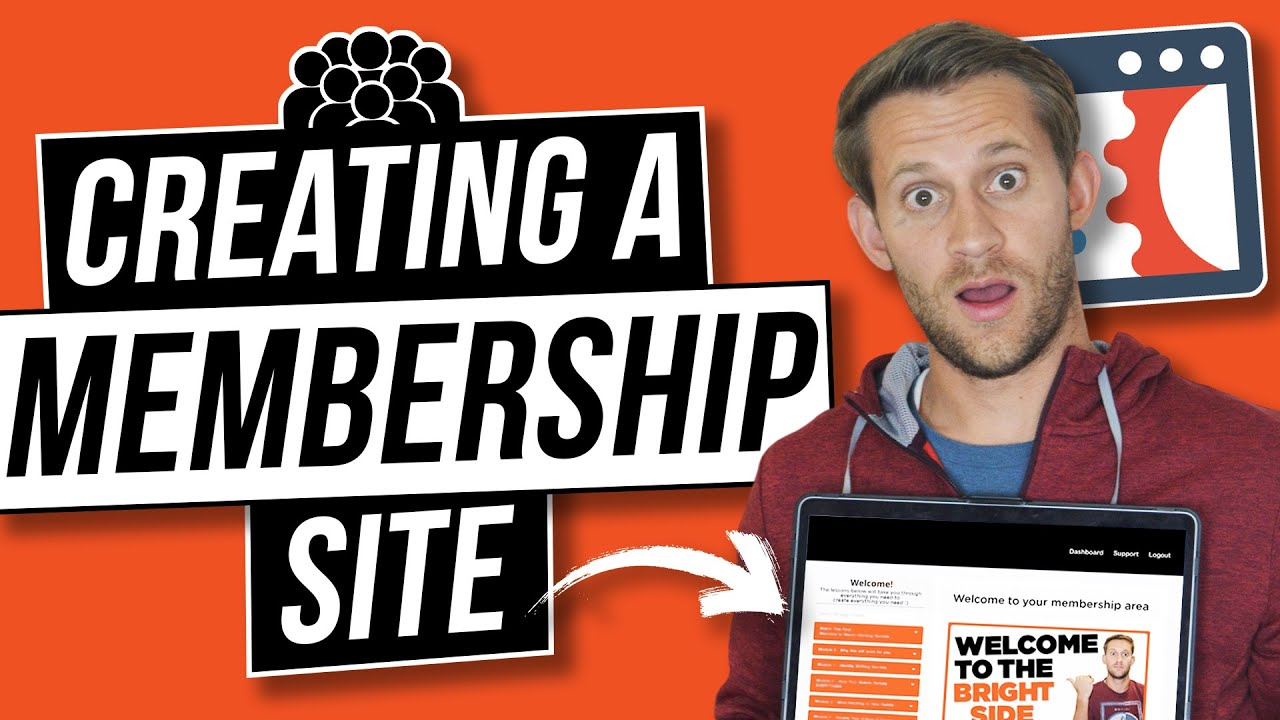 How to Create Membership Site in ClickFunnels - YouTube