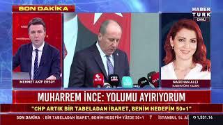 #CANLI Memleket Hareketi'ni başlatan CHP'li Muharrem İnce açıklama yapıyor #YAYINDA