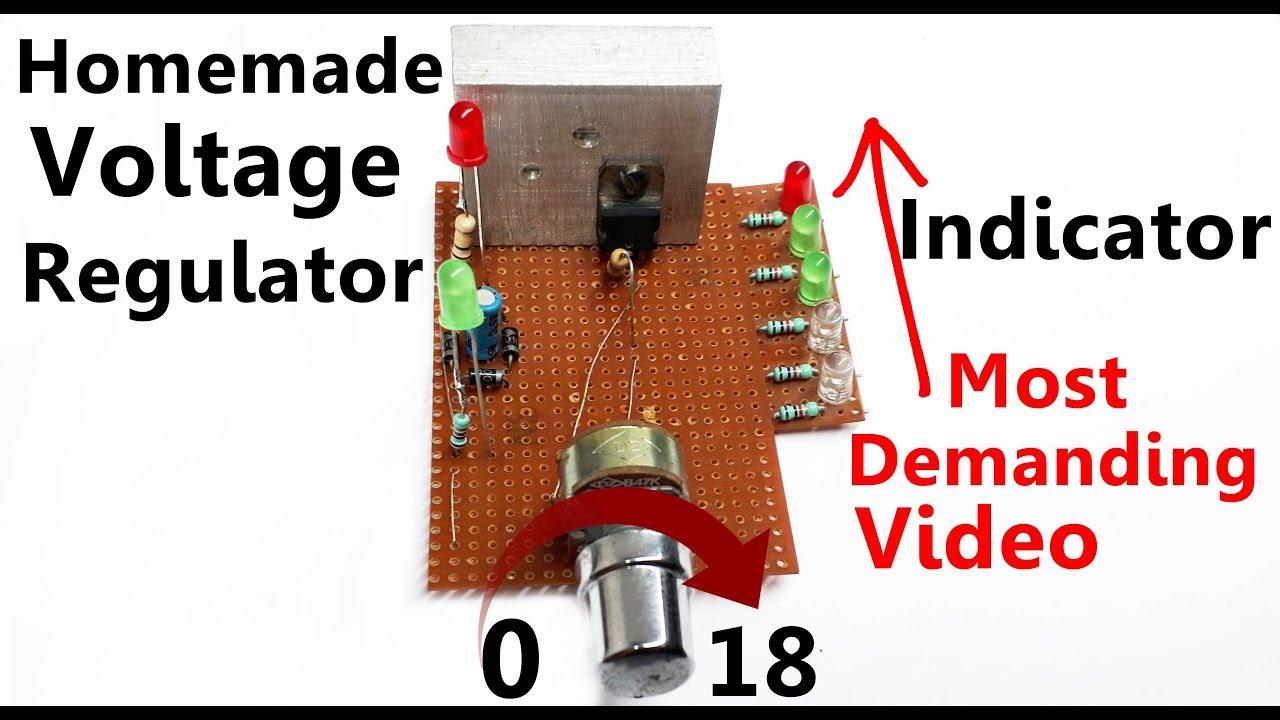 Adjustable Power Supply Circuit board | Power supply | adjustable voltage on