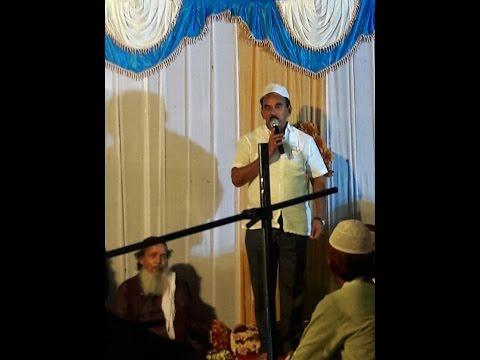 Telangana Minister Jupally with Khawwali in Kollapur sufi chaman