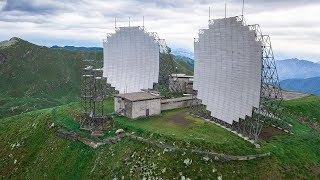 Overnight At Abandoned Cold War Radar Base - Urbex Lost Places Italy