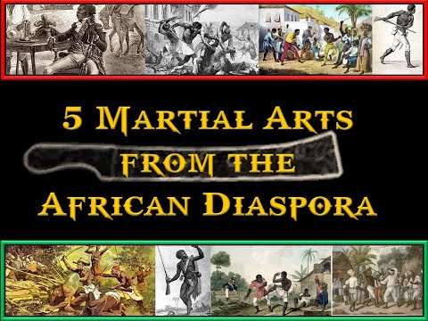 5 Martial Arts from the African Diaspora