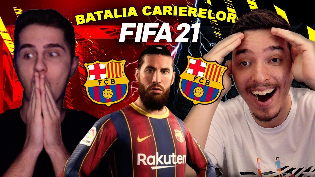 SERGIO RAMOS AJUNGE LA FC BARCELONA IN BATALIA CARIERELOR CU SINNER !!! FIFA 21 ROMANIA