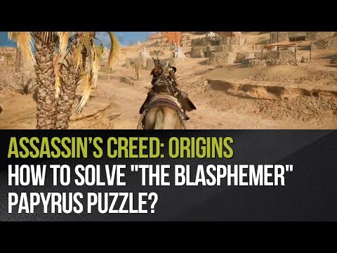 Assassin's Creed: Origins - How to solve