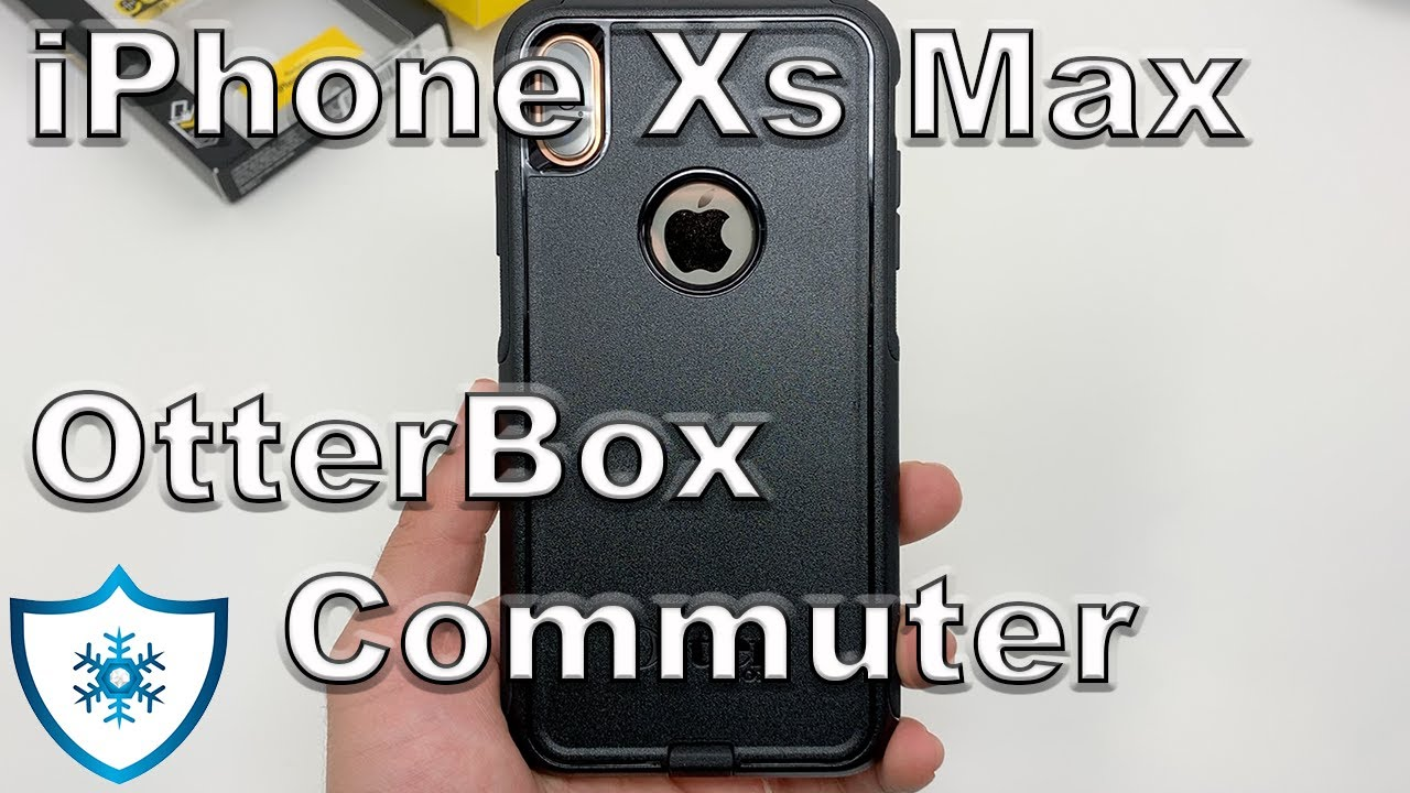 new arrival 70b29 25f42 iPhone Xs Max | OtterBox Commuter Series Black Review