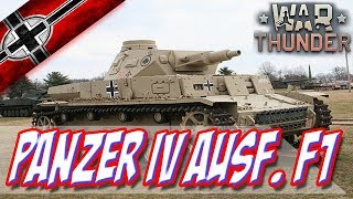 Panzer IV Ausf. F1| #WAR THUNDER | ESPAÑOL GAMEPLAY ( Guia De Tanques )