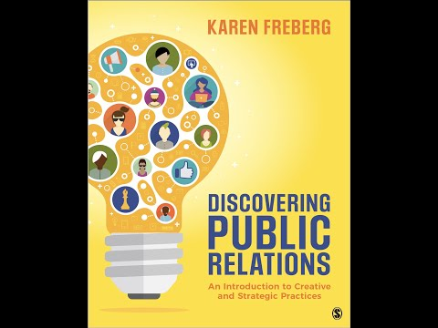 Discovering Public Relations Book Reveal