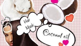 Кокосовая маска для волос/Coconut Oil Hair Mask(Подписывайся!)) http://instagram.com/alice_wp http://m.vk.com/ratatyi О пользе кокосового масла!!: Индианки всегда славились роскошн..., 2013-03-15T04:39:59.000Z)