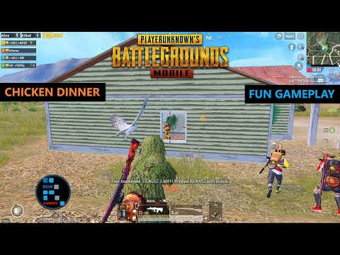 PUBG MOBILE | FUN GAMEPLAY INTENSE MATCH CHICKEN DINNER
