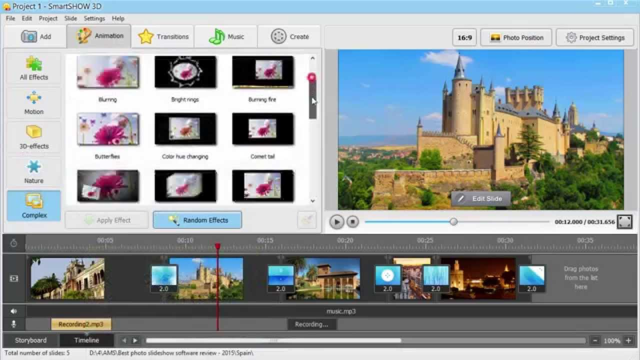 Best free photo slideshow maker for pc