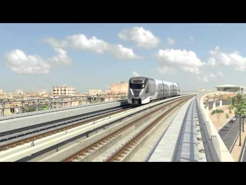 Doha Metro Train - Design