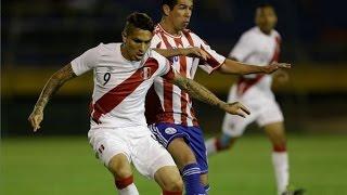 ► PARAGUAY VS PERU 2-1 RESUMEN Y GOLES Partido Amistoso Internacional 2014 | 14/11/14