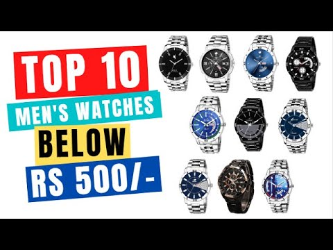 Best Watches Online Under Rs 500 For Men |