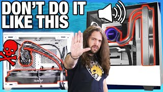 Stop Doing It Wrong: How to Kill Your CPU Cooler (AIO Mounting Orientation)