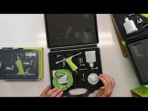 GREX Tritium Series Airbrush Review Inc. TG3, TS3, MF.TS, MF.TG Sets. Great Trigger Type Airbrush