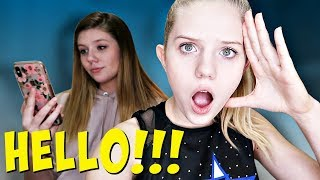 Ignoring My Sister for 24 Hours Challenge | Taylor and Vanessa