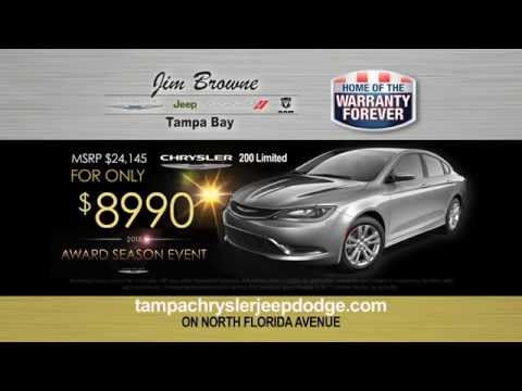 Jim Browne Chrysler Jeep Dodge Ram of Tampa Bay - April Award Event Season