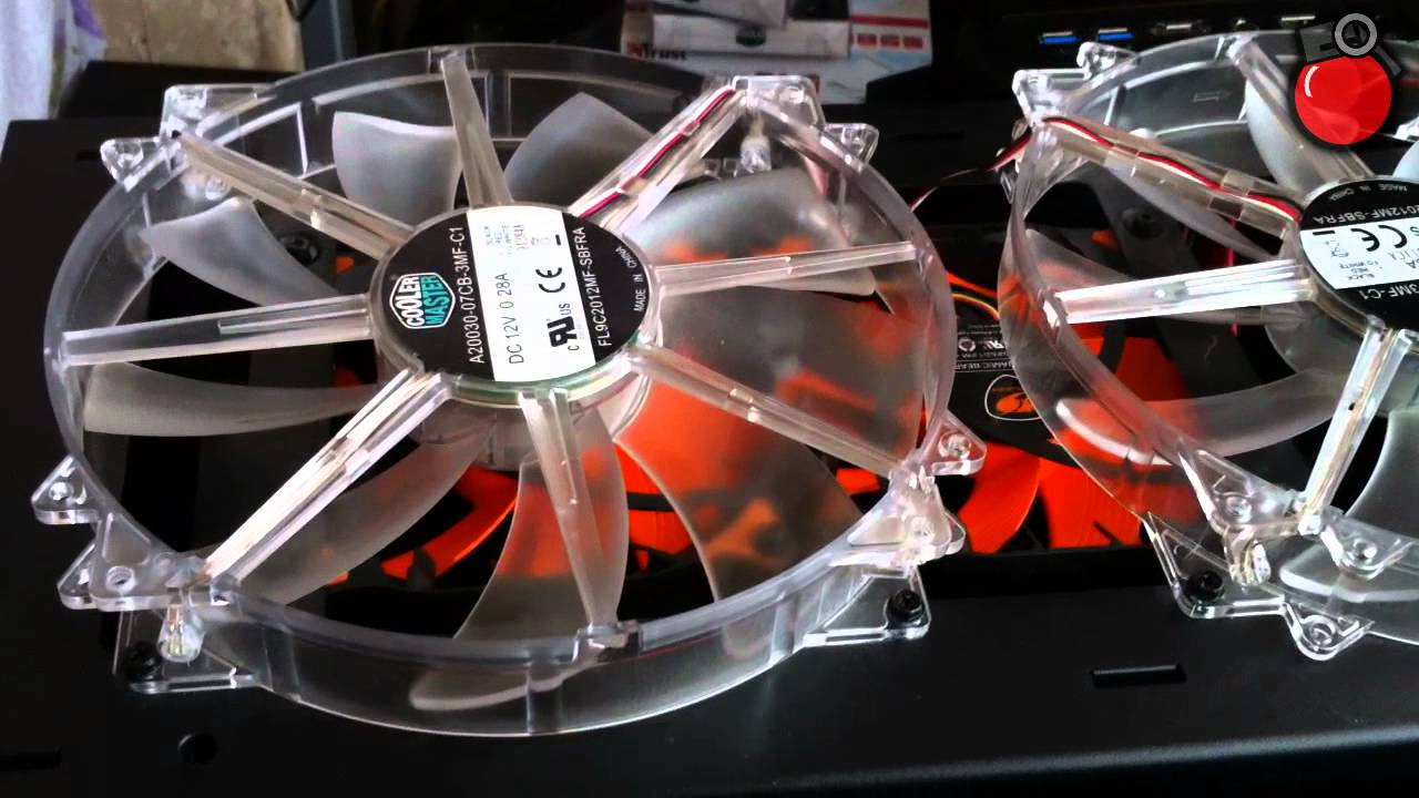 Corsair H100 Review Update Push Pull Cougar Vortex Fans Cooler Master Haf X Youtube