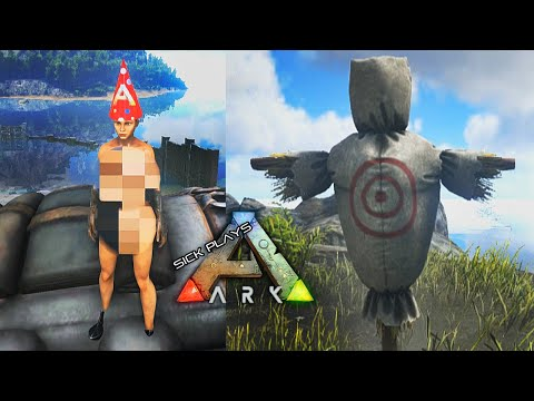 ARK Survival Evolved - Birthday Suit : Party Hat : Training Dummy