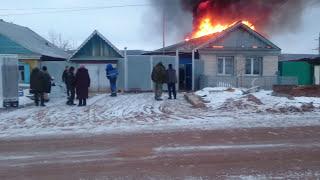 Страшный пожар в Бугуруслане 2