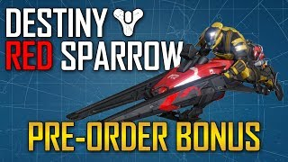 Destiny News - Red Sparrow Exclusive Pre-Order Bonus