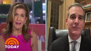 LA Mayor Eric Garcetti: It's 'Plausible' That 56 Percent Of Californians Could Get Virus | TODAY