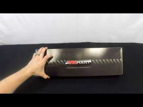 TruHart 96-00 Civic Rear Lower Control Arms TH-H102 unboxing