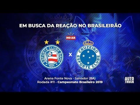 BAHIA X CRUZEIRO - TRANSMISSÃO AO VIVO RÁDIO 98 - BRASILEIRÃO