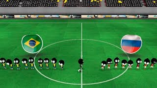 Stickman soccer 2018! Футбол стикменов! клон стикмен играют в футбол!