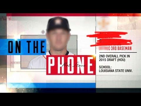 Alex Bregman ANONYMOUSLY CALLS into MLB Hot Stove (mystery caller)