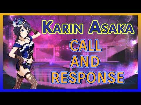[Love Live! Nijigasaki] Eng Guide To Karin Asaka Call And Response