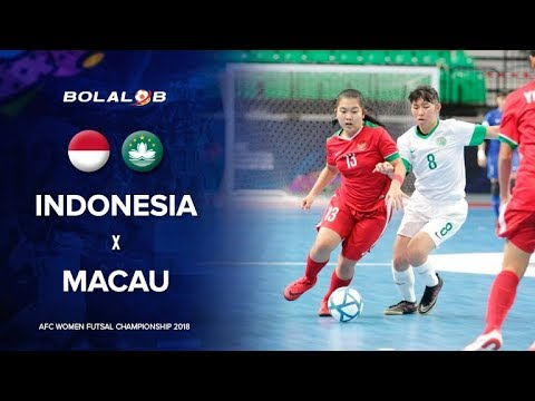 PARADE GOALS! Indonesia (9) vs (0) Makau - 2018 AFC Women's Futsal Championship