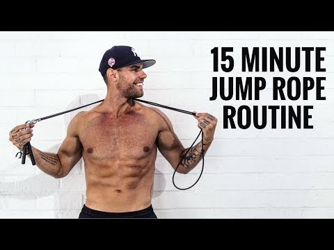 15 Min Jump Rope Routine For Weight Loss