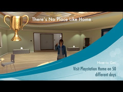 playstation home trophy guide youtube rh youtube com PlayStation Home Character PlayStation Home Avatar