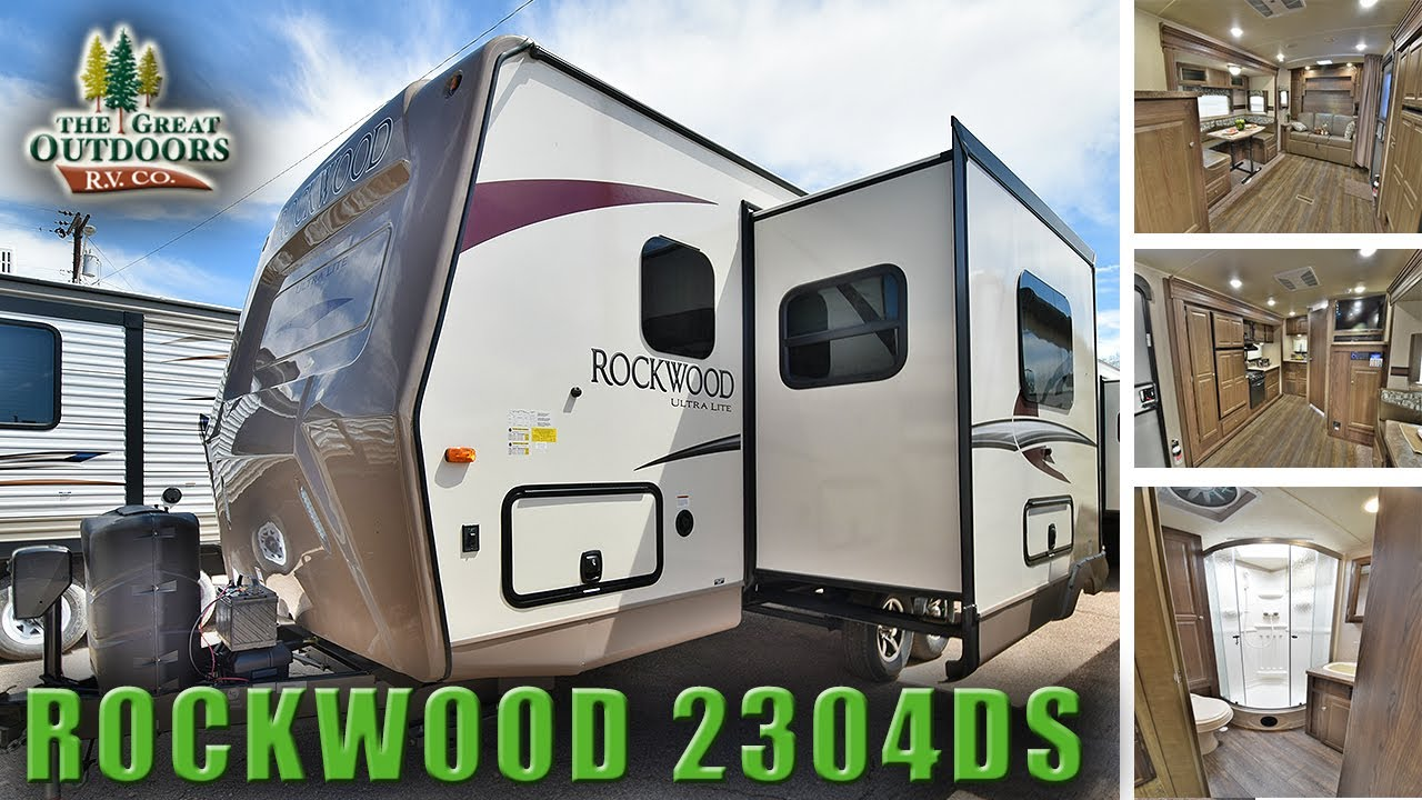 new murphy bed floor plan 2018 rockwood ultra lite 2304ds rv