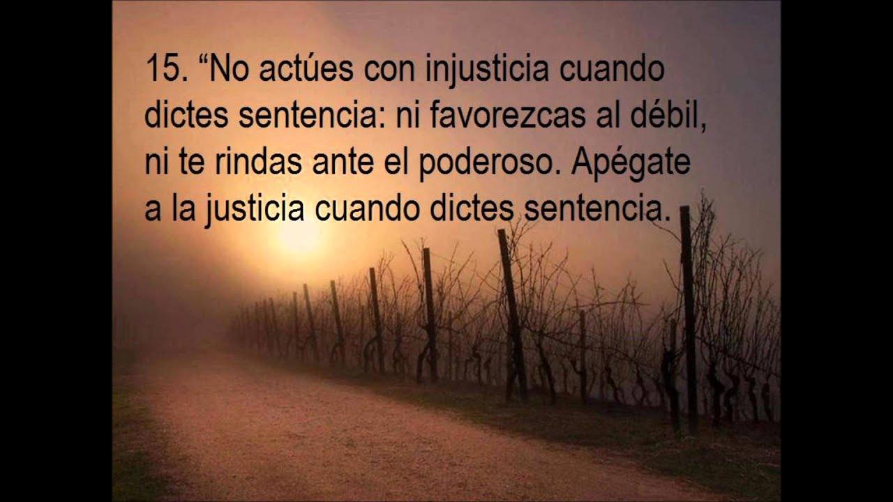 Leyes De Justicia Y De Dios