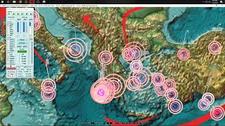 2/14/2019 -- Large spread of Earthquakes across whole Pacific -- Seismic activity increases