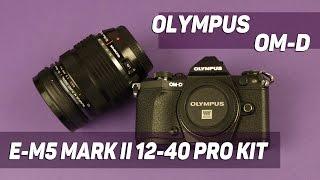 Розпакування Olympus E-M5 Mark II 12-40 PRO Kit Black