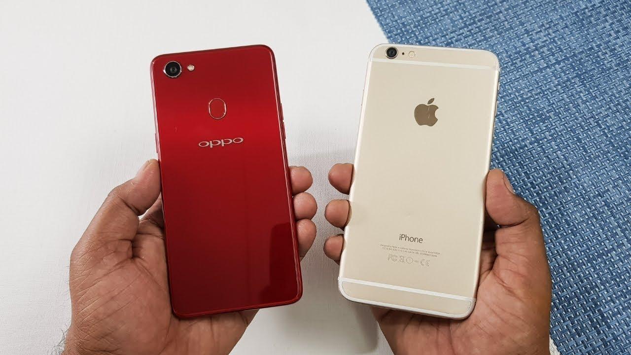 Oppo F7 Vs Iphone 6 Plus Speed Test Comparison Youtube