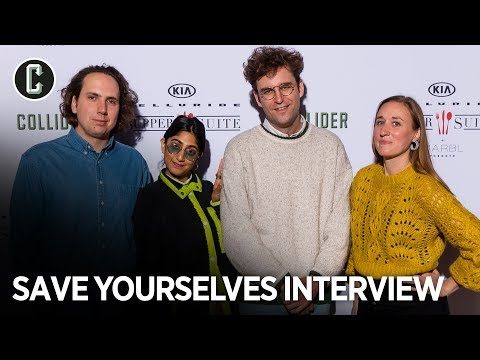 Save Yourselves! Stars John Reynolds and Sunita Mani on Surviving an Alien Invasion   Sundance