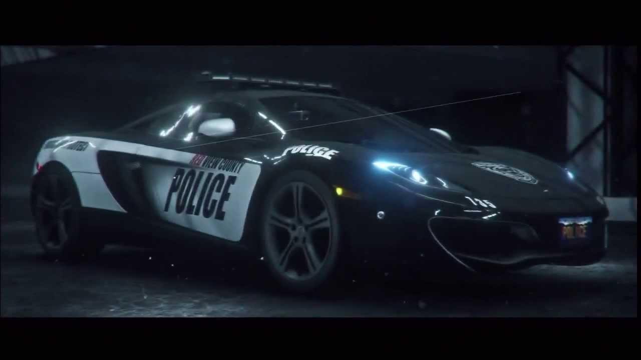 mclaren 12c police car - youtube