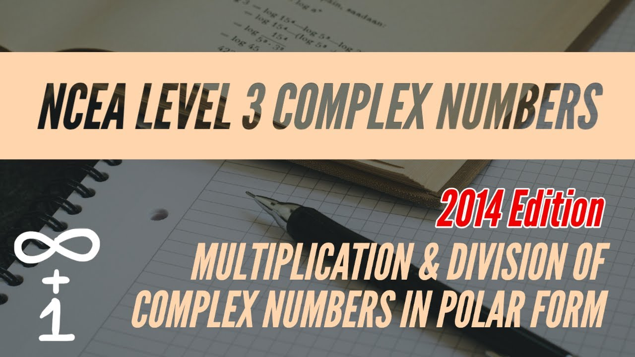 Multiplication & Division of Complex Numbers in Polar Form - YouTube